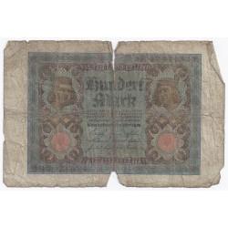 ALLEMAGNE - PICK 69 b - 100 MARK - 01/11/1920