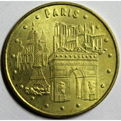 75 - PARIS - LES 4 MONUMENTS - MDP - 2007