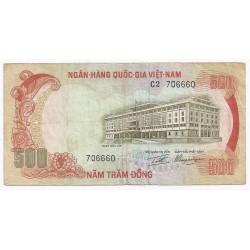 VIETNAM DU SUD - PICK 33 - 500 DONG - ND (1972)