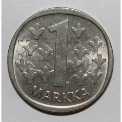 FINLANDE - KM 49 a - 1 MARKKA - 1985 N