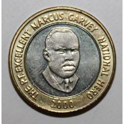 JAMAÏQUE - KM 182 - 20 DOLLARS 2000 - MARCUS GARVEY
