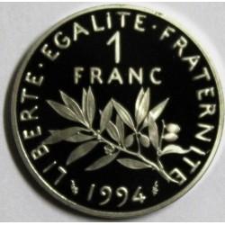GADOURY 474b - 1 FRANC 1994 TYPE SEMEUSE Dauphin - BE