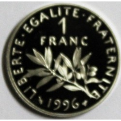 FRANCE - KM 925.2 - 1 FRANC 1996 TYPE SOWER