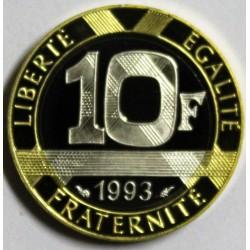 FRANKREICH - KM 964 - 10 FRANCS 1993 TYP GENIE DES BASTILLE