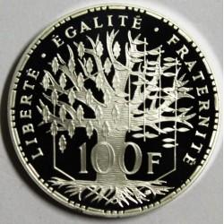 GADOURY 898a - 100 FRANCS 1992 - TYPE PANTHEON - KM PS 9