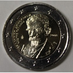 GREECE - 2 EURO 2018 - 75th ANNIVERSARY OF THE DEATH OF POET KOSTIS PALAMAS