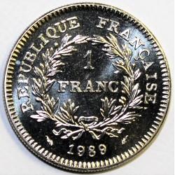 GADOURY 477 - 1 FRANC 1989 TYPE ETATS GENERAUX - KM 967