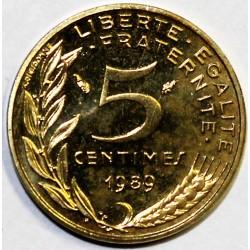 GADOURY 175 - 5 CENTIMES 1989 TYPE MARIANNE - KM 933