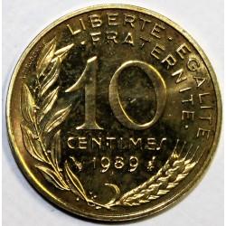 GADOURY 293 - 10 CENTIMES 1989 TYPE MARIANNE - KM 929