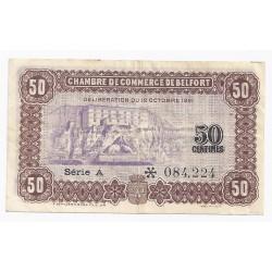 14 caen et honfleur chambres de commerce 50 centimes 1920 tres tres beau - Chambre du commerce belfort ...