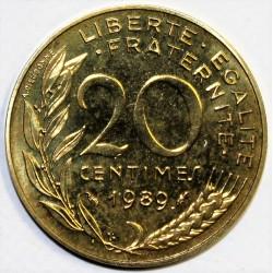 GADOURY 332 - 20 CENTIMES 1989 TYPE MARIANNE - KM 930