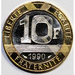 GADOURY 827 - 10 FRANCS 1990 TYPE GENIE DE LA BASTILLE - KM 964.1