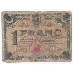 COUNTY 17 - ROCHEFORT - CHAMBER OF COMMERCE - 1 FRANC - 25/02/1920