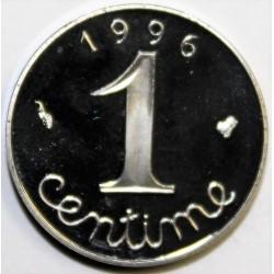 GADOURY 91 - 1 CENTIME 1996 TYPE EPI - KM 928