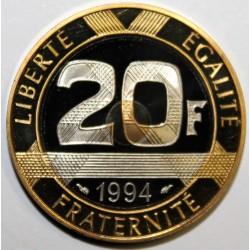 GADOURY 871 - 20 FRANCS 1994 TYPE MONT SAINT MICHEL Dauphin - KM 1008