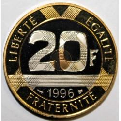 GADOURY 871 - 20 FRANCS 1996 TYPE MONT SAINT MICHEL - KM 1008.2