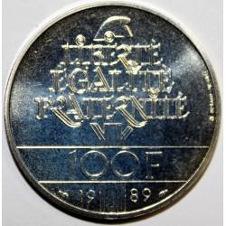GADOURY 904 - 100 FRANCS 1989 TYPE DROITS DE L'HOMME - KM 970