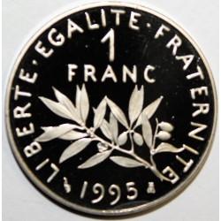 GADOURY 474 - 1 FRANC 1995 TYPE SEMEUSE - KM 925.2