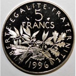 FRANCE - KM 926a.2 - 5 FRANCS 1996 TYPE SOWER