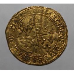FRANÇOIS 1er - 1515 - 1547 - ÉCU D'OR AU SOLEIL DU DAUPHINÉ - POINT 2e