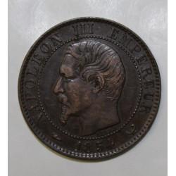 GADOURY 152 - 5 CENTIMES 1854 W Lille TYPE NAPOLEON III - KM 777