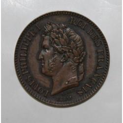 GADOURY 97 - 2 CENTIMES 1842 - TYPE LOUIS PHILIPPE Ier - ESSAI