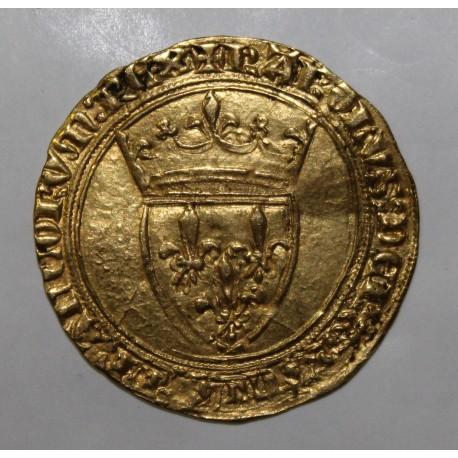 FRANCE - FR 291 - CHARLES VI - 1380 - 1422 - GOLDEN ECU WITH CROWN