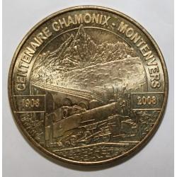 County 74 - CHAMONIX MONT BLANC - MONTENVERS - CENTENARY - 1908 - 2008 - MDP - 2009