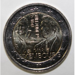 LUXEMBOURG - 2 EURO 2018 - 175 YEARS OF THE DEATH OF GUILLAUME 1ST - 1772 - 1843