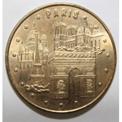 75 - PARIS - LES 4 MONUMENTS - REVERS 1 - MDP - 2006