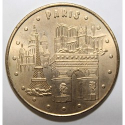 75 - PARIS - LES 4 MONUMENTS - REVERS 2 - MDP - 2006