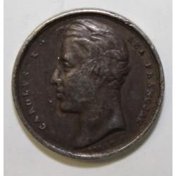 FRANCE - CHARLES X - MÉDAILLE DE COURONNEMENT - 1825