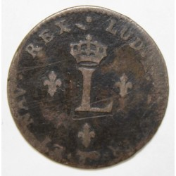 FRANCE - Gad 281 - LOUIS XV - DOUBLE SOL - 1739 A - Paris