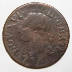 Gad 348 - LOUIS XVI - LIARD - 1779 W - Lille