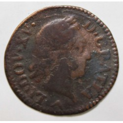 FRANCE - Gad 272 - LOUIS XV - LIARD WITH OLD HEAD - 1773 W - Lille