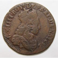 Gad 80 - LOUIS XIV - LIARD DE FRANCE - 1655 D - Vimy