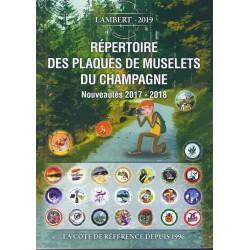 14ème REPERTOIRE DES MUSELETS DE CHAMPAGNE - ADDITIVE - 2017/2018