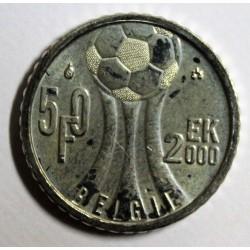 BELGIUM - KM 214 - 50 FRANCS 2000 - European Cup - Flemish legend
