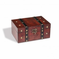 RUSTIKA TREASURE CHEST, MADE FROM GENUINE SOLID WOOD