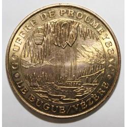 24 - LE BUGUE SUR VEZERE - GOUFFRE DE PROUMEYSSAC - MDP - 2001