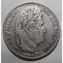 GADOURY 678 - 5 FRANCS 1837 W Lille TYPE LOUIS PHILIPPE 1er- KM 749