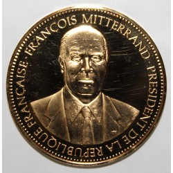 FRANCE - MEDAL - FRANÇOIS MITTERAND - 21st PRESIDENT OF THE REPUBLIC - 21 MAY 1981