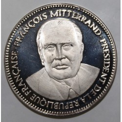 FRANCE - MEDAL - FRANÇOIS MITTERAND - 21st PRESIDENT OF THE REPUBLIC - 2nd MANDATE - 21 MAY 1981