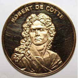 FRANCE - MÉDAILLE - ROBERT DE COTTE - 1656 - 1735 - ARCHITECTE DU ROI SOLEIL - LOUIS XIV