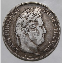 GADOURY 678 - 5 FRANCS 1832 A - Paris - TYPE LOUIS PHILIPPE 1er - KM 749