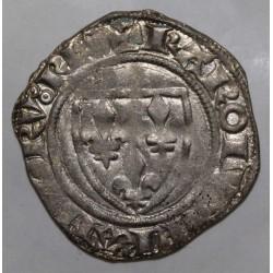 FRANCE - Dup 377 - KARL VI - 1380 - 1422 - BLANC GUENAR - 20/10/1411 - TOURNAI - 4th MONETARY CREATION