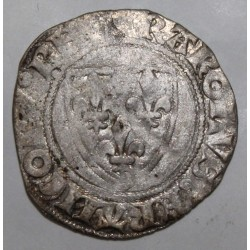 FRANCE - Dup 377 - KARL VI - 1380 - 1422 - BLANC GUENAR - 11/09/1389 - TOURNAI - 2nd MONETARY CREATION