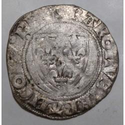 FRANCE - Dup 377 - KARL VI - 1380 - 1422 - BLANC GUENAR - 11/09/1389 - TOURNAI - 2nd MONETARY CREATION