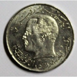 TUNISIE - KM 291 - 1/2 DINAR 1968 - HABIB BOURGUIBA