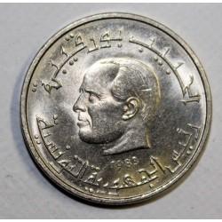 TUNISIA - KM 303 - 1/2 DINAR 1983 - FAO